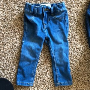 Old navy jeans adjustable waist band